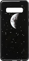 Чехол TOTO Чехол-накладка TOTO Cartoon Print Glass Case Samsung Galaxy S10+ Starry Sky SKU_F_92992