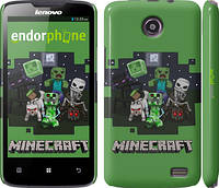 "Чехол на Lenovo A820 Minecraft ""773c-68"""
