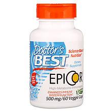 """Эпикор Doctor's Best """"Epicor"""" 500 мг, поддержка иммунитета (60 капсул)"""