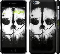"""Чехол на iPhone 6 Plus Call of Duty череп """"150c-48"""""""