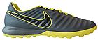 Сороконожки Nike Lunar Legend 7 Pro TF - Dark Grey/Yellow (AH7249 070)-Оригинал, фото 3