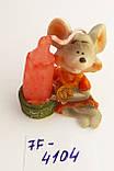 Статуэтка подсвечник со свечой Крыска размер 4,5*4 см, фото 4
