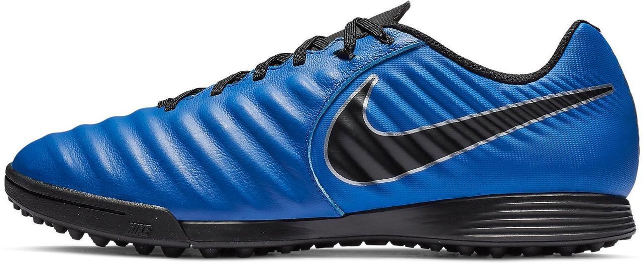 Мужские сороконожки Nike Tiempo Legend VII TF (AH7243-400)-Оригинал