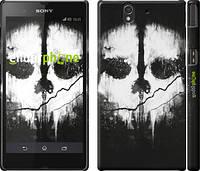 """Чехол на Sony Xperia Z C6602 Call of Duty череп """"150c-40"""""""