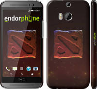 "Чехол на HTC One M8 dual sim Dota 2. Logo 3 ""982c-55"""
