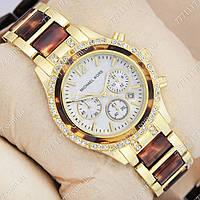 Часы женские наручные Майкл Корс crystal Gold-turtle/White