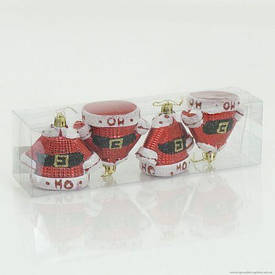 "Ёлочная игрушка ""Костюмчик Деда Мороза"" 01122"