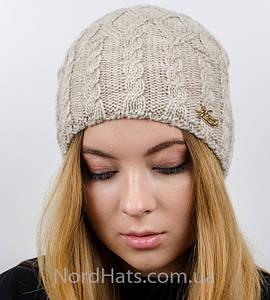 """Женская шапка, """"Моника"""" (лен)"""