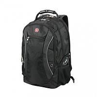 Рюкзак черный Wenger «SCANSMART», фото 1