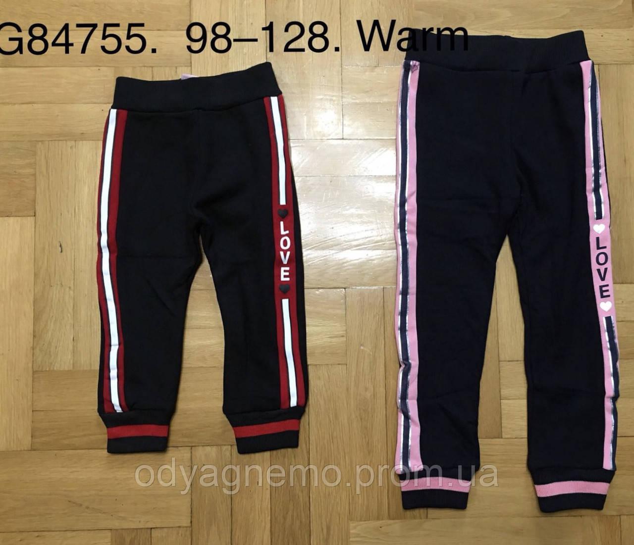 Спортивные брюки утепленные для девочек Grace оптом, 98-128 рр. Артикул: G84755