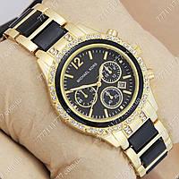 Часы женские наручные Майкл Корс crystal Gold-black/Black