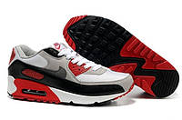 Кроссовки мужские Nike Air Max 90 (найк аир макс 90) черно-белые, кроссовки для бега, найки