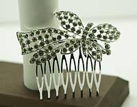 Новые свадебные украшения для волос 2015, гребни, тиары, диадемы, украшения оптом. 148