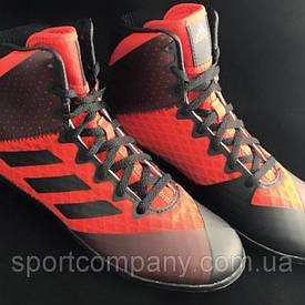 Обувь для борьбы. Mat Wizard 4K - красного цвета