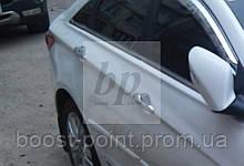Хром накладки на дверные ручки Hyundai sonata YF (хюндай соната 2009+)