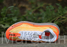 Мужские кроссовки Nike Air Max 720/95 Heron Preston By You (Найк Аир Макс 720/95 СТИЛЬ) оранжевые, фото 3