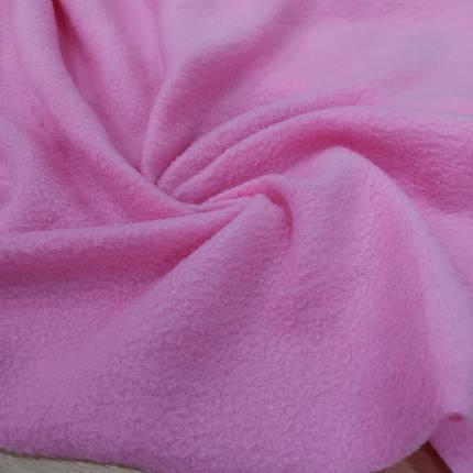 Ткань флис розовый, фото 2