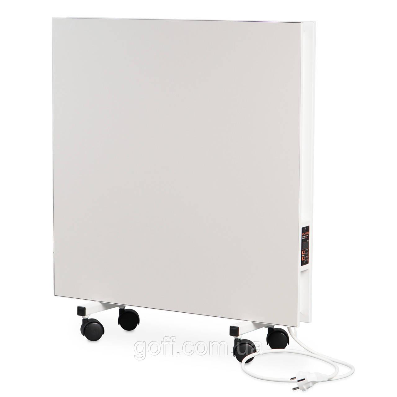 Подвійний керамічний обігрівач з програматором та ніжками Flyme 800PW білий, фото 1