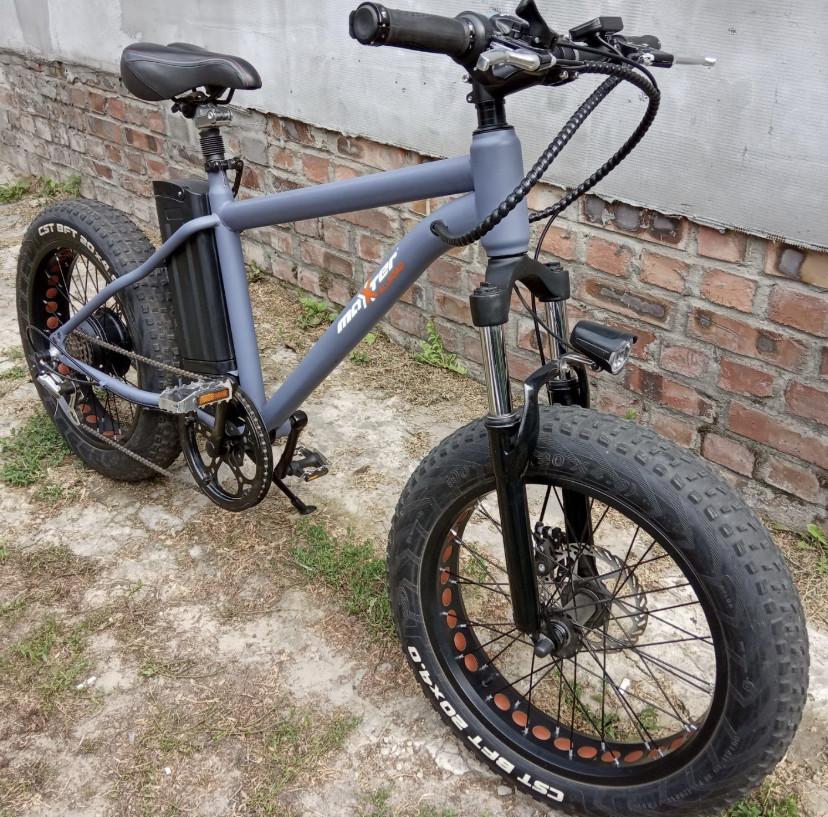 Электровелосипед электро фэтбайк на 20 колесах E-bike Hummer электро байк