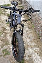 Электровелосипед электро фэтбайк на 20 колесах E-bike Hummer электро байк, фото 3