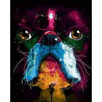 Картина по номерам Собака. Худ.Патрис Мурчиано 40Х50 BabylonVP754