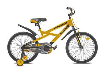 "Велосипед детский ARDIS Hammer 20"" Желтый"