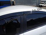 Ветровики, дефлекторы окон Kia Rio 2011- (Autoclover), фото 6