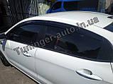 Ветровики, дефлекторы окон Kia Rio 2011- (Autoclover), фото 7