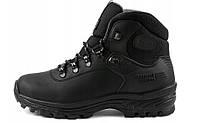 Зимові чоловічі трекінгові черевики з натуральної шкіри GRISPORT, чорний. Р 41-46, фото 1