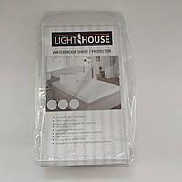 Наматрасник детский непромокаемый Light House с резинками по углам (120х60)