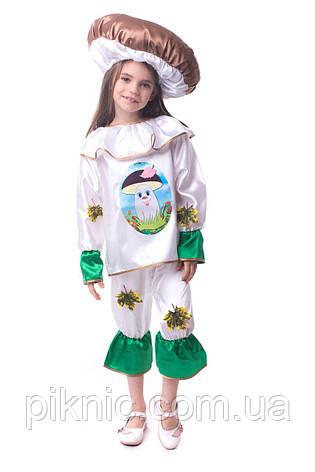 Детский костюм гриб Боровик 4,5,6,7 лет для детей 104-110-116-122-128 Карнавальный костюм для мальчика девочки, фото 2