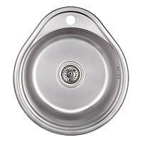 Мойка для кухни Imperial 4843 (0.6мм) Satin