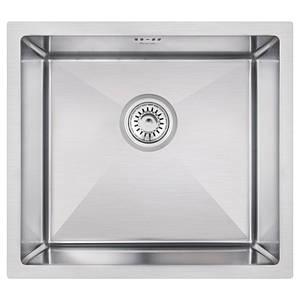 Мойка для кухни из нержавющей стали врезная цвет матовый Imperial D4645 Handmade 3.0/1.2 mm