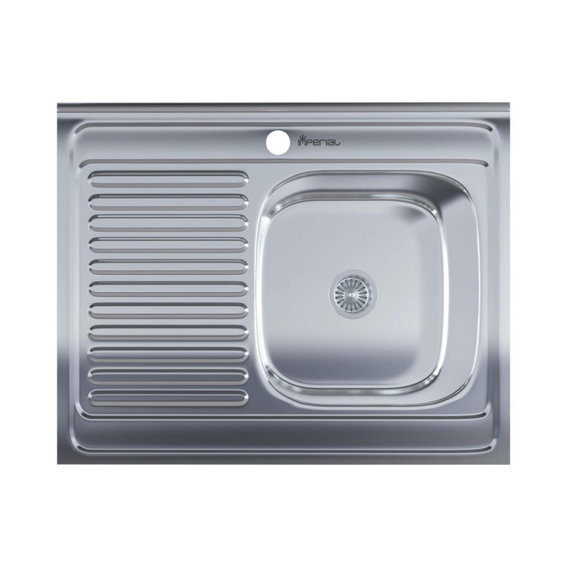 Мойка для кухни Imperial 6080-R (0,6мм) Decor
