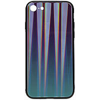 Чехол TOTO Aurora Print Glass Case Apple iPhone 7/8 Blue
