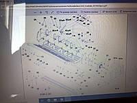 87316357; 87471276; 87323956 Ротор Измельчителя AFX 8010 (РЕМОНТ) Case Кейс Запчасти (87316357)