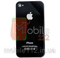 Задняя крышка для iPhone 4 черная копия высокого качества Model A1332