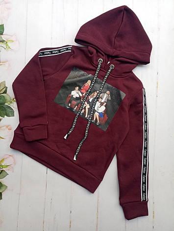 Штани для дівчинки, з капюшоном 128-152 опт, фото 2