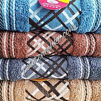 Махровое банное полотенце Плетенка