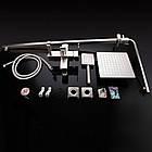 Душевая система из нержавеющей стали квадратная цвет матовый Imperial (1005) 33-1005, фото 4