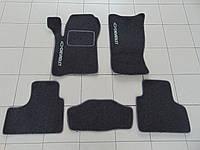 Коврики в салон ворс для Chevrolet Niva/ВАЗ 2123 антрацит, Beltex, комплект 5шт