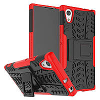 Чехол Armor Case для Sony Xperia X F5121 / F5122 Красный