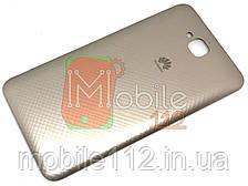 Задняя крышка Huawei Y6 Pro TIT-U02, Enjoy 5, Honor Play 5X золотистая