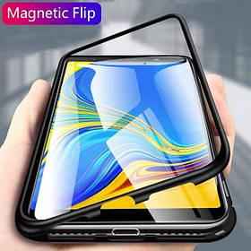 Магнитный чехол (Magnetic case) для Samsung Galaxy A8 2018