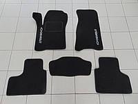 Коврики в салон ворс для Chevrolet Niva/ВАЗ 2123 черный, Beltex, комплект 5шт