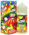 Жидкость для электронных сигарет Bazooka Tropical Thunder Rainbow Sour Straws 100мл, фото 2