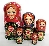 Матрьошка українська, 5 ляльок (h-18 см, d-8,5 см) MU073