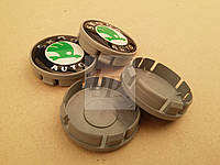 Заглушки (колпачки) в литые (легкосплавные) диски Skoda (шкода)