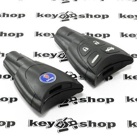 Корпус смарт ключа Saab (Сааб) 4 кнопки, фото 2
