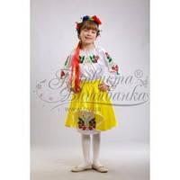Заготовка для вышивки бисером детского платья ПД-001